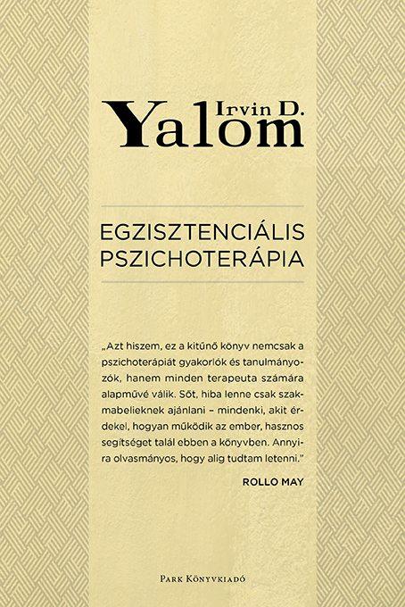 Könyv borító - Egzisztenciális pszichoterápia