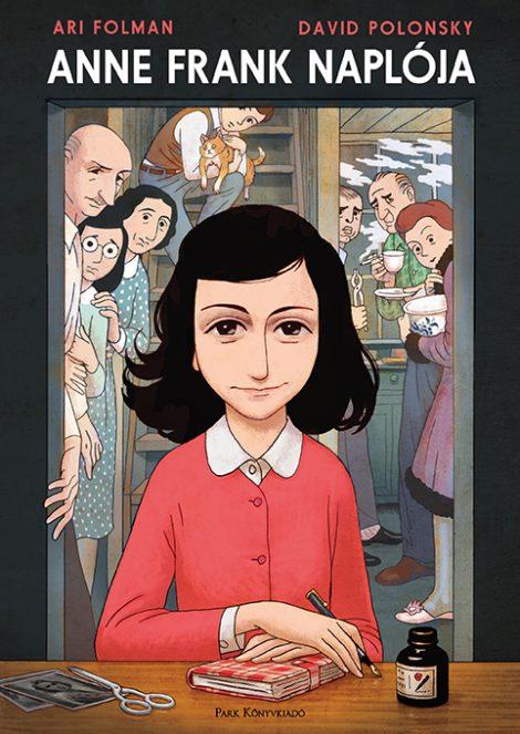 Könyv borító - Anne Frank naplója – képregény