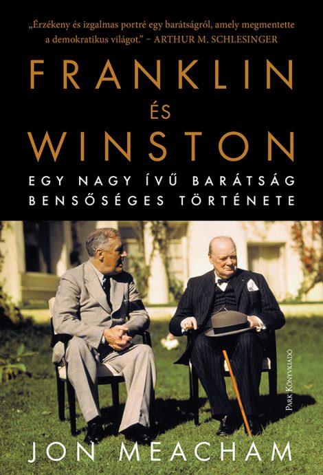 Könyv borító - Franklin és Winston – Egy nagy ívű barátság bensőséges története